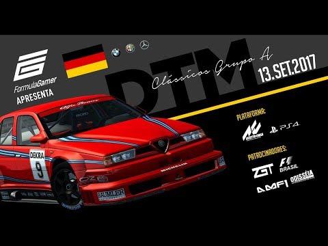 LIGA ZGT - Formula Gamer - Assetto Corsa PS4  - DTM Clássicos - Espanha Barcelona GP