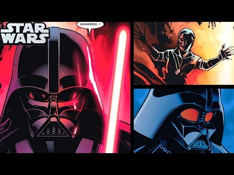 DARTH VADER IS VISITED BY PADME'S GHOST!!(CANON) - Star Wars Comics Explained
