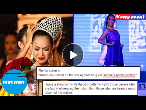 2016 Miss University Of Mindanao Caught The Attention Of The Online Community Because Of Her Q A