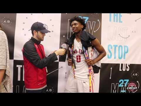 Nike EYBL LA interview with RM5 Elite (TX) Tyrese Maxey