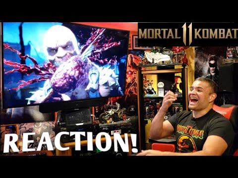 Mortal Kombat 11 Gameplay Reveal : Reaction!