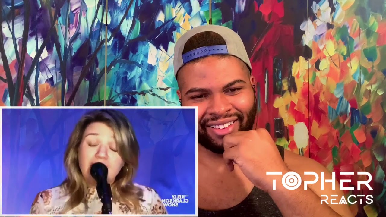 """The Kelly Clarkson Show  - """"Kellyoke"""" Vol. 8 (Reaction)   Topher Reacts"""