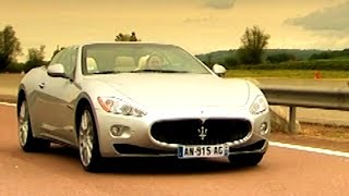 600 Mile Road Trip In The Maserati Gran Cabriolet Fifth Gear смотреть
