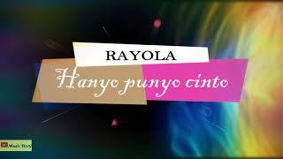 Rayola-Hanyo punyo cinto