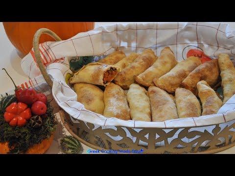 Cypriot Kolokotés – Pumpkin Pies – Κυπριακές Κολοκωτές – Κολοκυθόπιτες