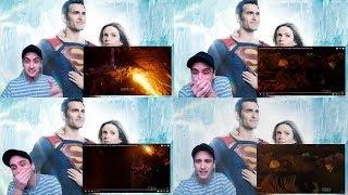 ¡ESTO ES DEMASIADO! REACCIÓN a The Flash Tierra 90, Smallville GA, Captain Cold, Firestorm, Stargirl