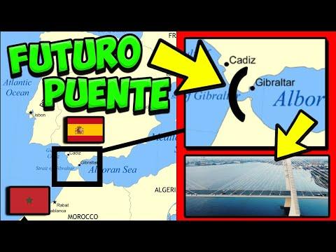 PUENTE España a Marruecos - Proyecto ATLANTROPA 💧⚡