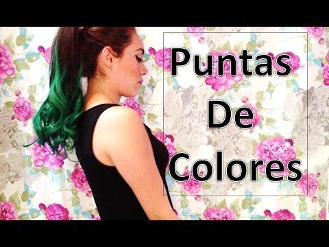 Puntas de Colores | Mi cambio de Look | DIY