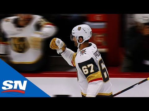 Max Pacioretty Bangs Home His First Goal As Member Of Vegas Golden Knights