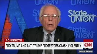 Bernie Sanders discusses North Korea, Syria, Democrats & airlines with CNN