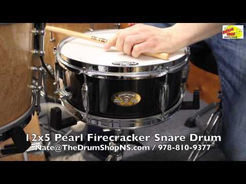 Pearl Firecracker Snare Drum 12x5 - The Drum Shop North Shore
