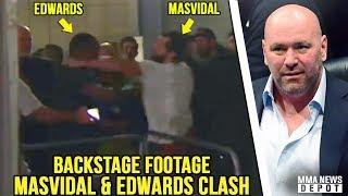 UFC Pros react to Masvidal vs Edwards backstage bráwl, & Till vs Masvidal; Dana reacts to UFC London thumbnail