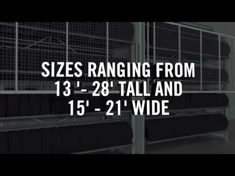 Tire Storage Carousel From Midwest Storage Solutions