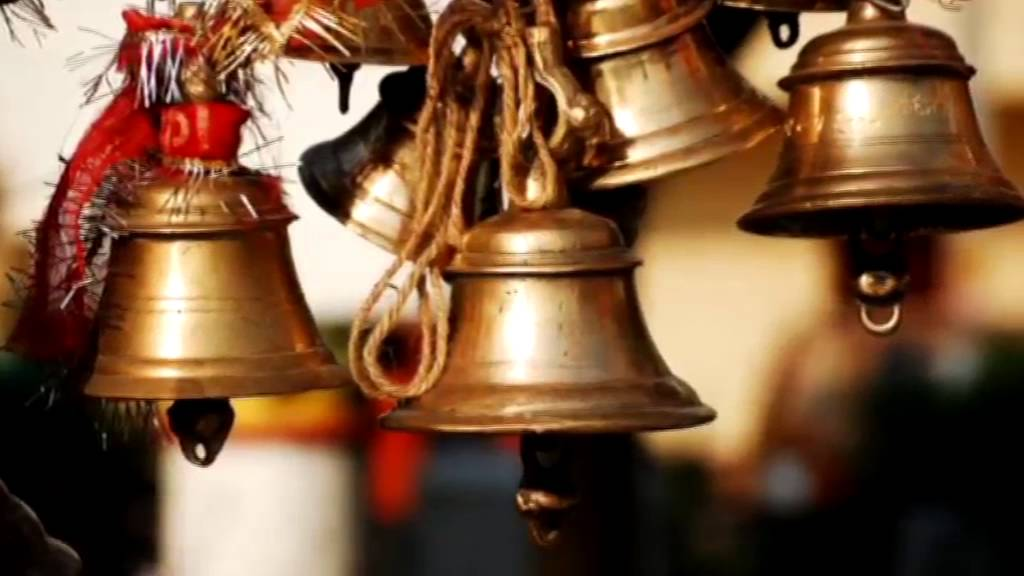 Image result for temple bell and shankh