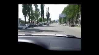 Центральная улица г.Чолпон-Ата, Иссык-куль