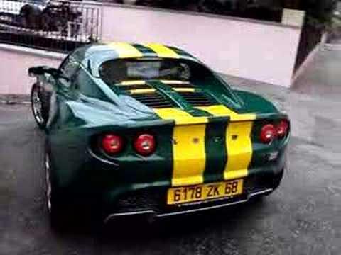 lotus elise british racing green jim clark youtube. Black Bedroom Furniture Sets. Home Design Ideas
