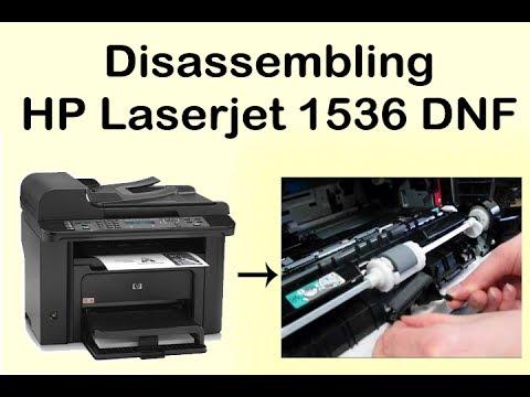 Hp laserjet 1536 dnf disassembly | Paper Jam