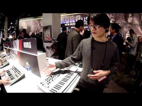 2016 NAMM Show - Minilogue Overview with Tatsuya Takahashi