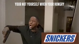 If hood dudes were in snickers commercials