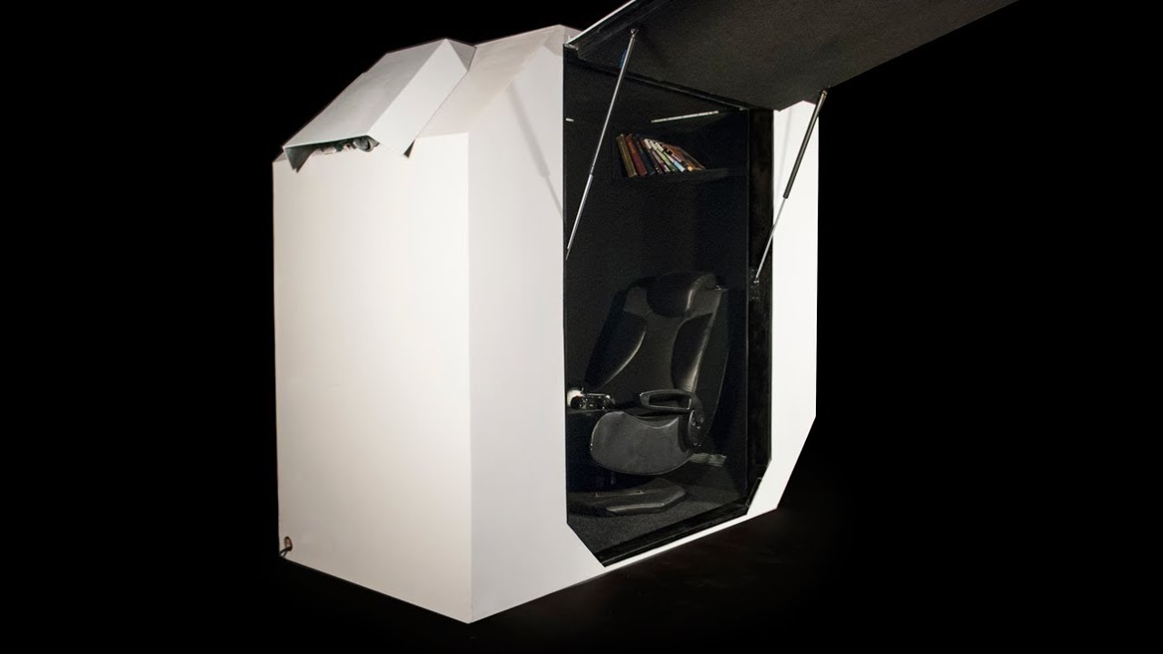 Computer Chair For Gaming Chairs With Storage Game Tank, Video Immersion Pod - Youtube
