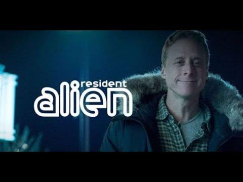 Blue Avians on 'Resident Alien' by SyFy TV & Dark Horse Entertainment