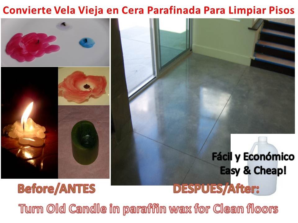 Kerosene old candle floor cleaner self shining kerosene for Piso de concreto cera cocina