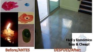 Kerosene+Old Candle:Floor Cleaner Self-Shining/Kerosene+Vela:Cera para Abrillantar y limpiar Pisos Thumbnail