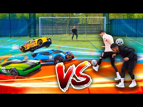 F2 VS HOT WHEELS - EPIC RACE! 🏎🔥⚽️ | Billy Wingrove & Jeremy Lynch Thumbnail