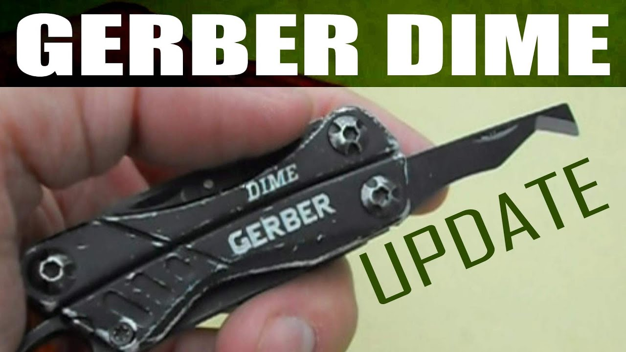 gerber dime update and package opener demonstration youtube