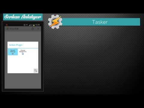 Ücretli Android Uygulamaları - Tasker