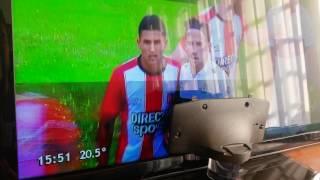 Arreglo imagen cortada y con sombras en TV Samsung UN40D5500