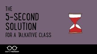 The 5 Second Solution for a Talkative Class thumbnail