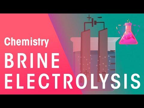 Electrolysis Of Brine | Reactions | Chemistry | FuseSchool