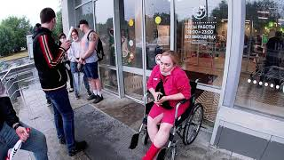 СтопХам-Как мы почти помешали инвалидке колясочнице...