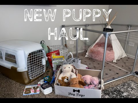 HUGE NEW PUPPY HAUL...(she's spoiled) + GIVEAWAY *CLOSED*