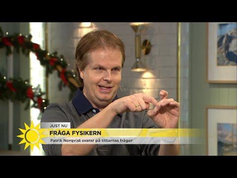"""""""Man ska till svarta hål om man inte vill åldras"""" - Nyhetsmorgon (TV4)"""