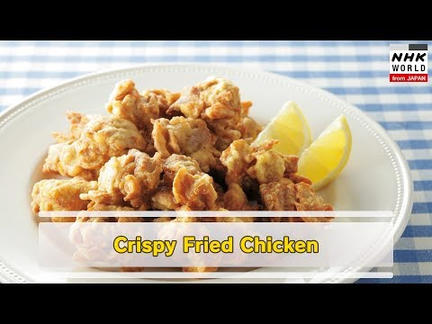 JAPANESE FOOD:Crispy Fried Chicken