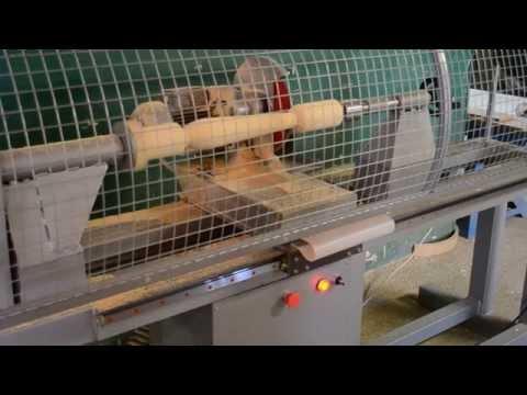 Фрезерный станок с ЧПУ (изготовление за 40 сек, фрезеровка балясины)
