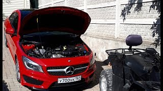 Замена масла и фильтров | Mercedes CLA