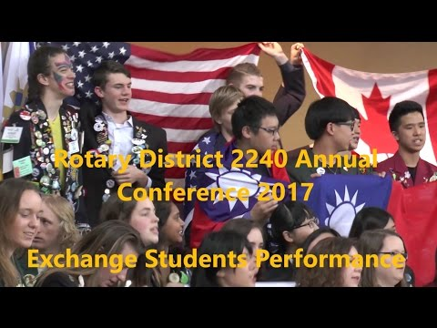 Rotary District 2240 Annual Conference 2017 – Exchange Students Performance Official Trailer