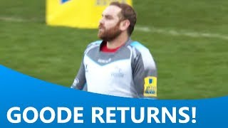 The return of Andy Goode
