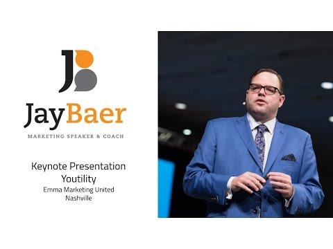 Jay Baer Marketing Keynote Speaker Youtility