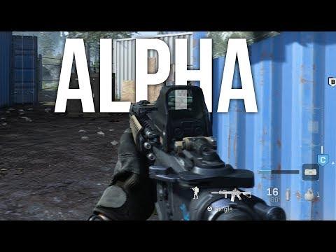 Call of Duty: Modern Warfare Alpha
