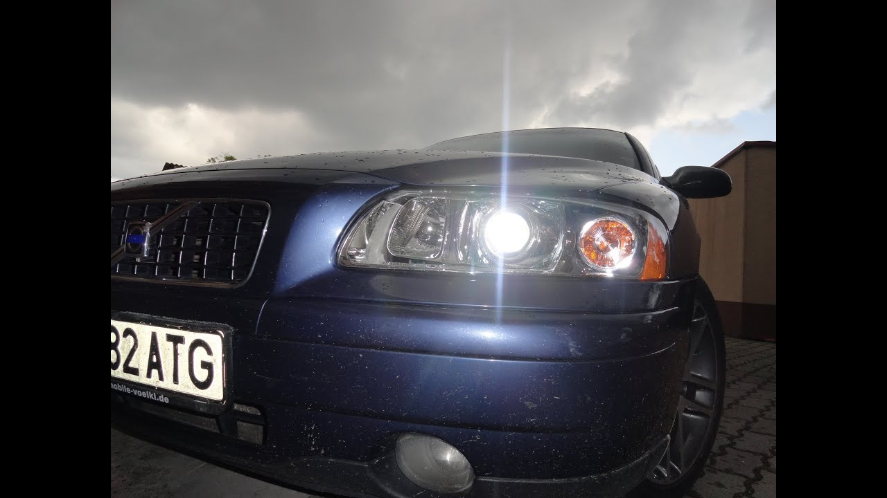 Service Manual  2002 Volvo S60 Headlight Conversion