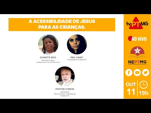 TV-PT MG 🔺 A ACESSIBILIDADE DE JESUS PARA AS CRIANÇAS.