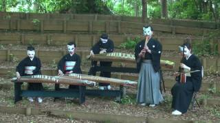 "和楽器で本気のルパン三世!ーJapanese traditional musical instruments ensemble ""MAHORA"" thumbnail"