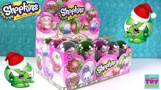 Shopkins Metallic Christmas Ornaments Collection Season 5 Repaint Unboxing Toy Review | PSToyReviews