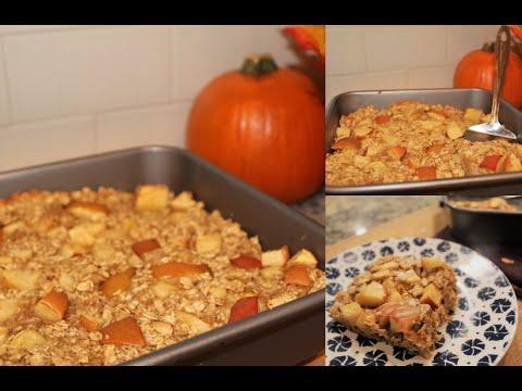 Apple Cinnamon Baked Oatmeal (No Oil or Granulated Sugar, GF Friendly)