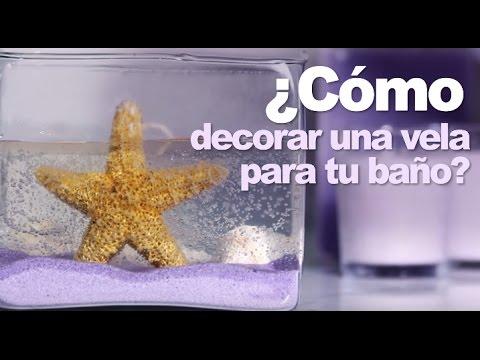 Vela de gel para decorar tu ba o by kleenex cottonelle - Bano con velas ...