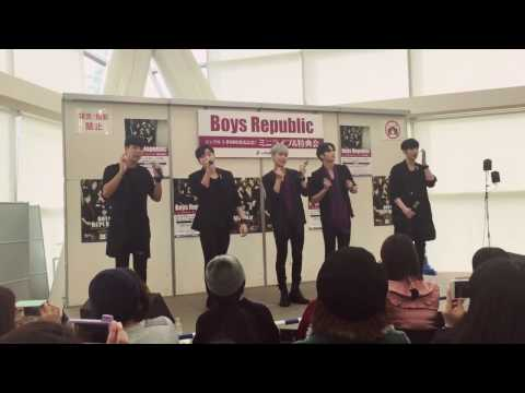 20170114 boysRepublic リリイベ in 大阪 1部 Hello Sunshine